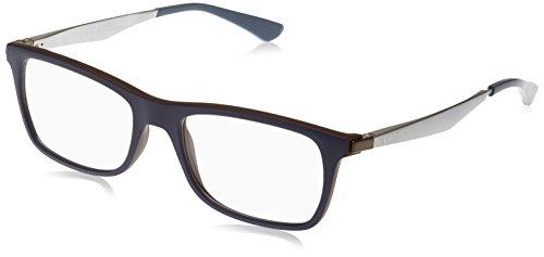 c0ec08fe9fd2c7 Ray Ban Optical Montures de lunettes RX7062 Pour Homme Matte Black, 53mm  Noir (Negro
