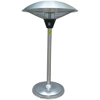 Perfect AZ Patio Heaters HIL 1821 Tabletop Electric Patio Heater
