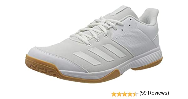 adidas Ligra 6, Zapatillas de vóleibol para Mujer, Blanc Blanc ...