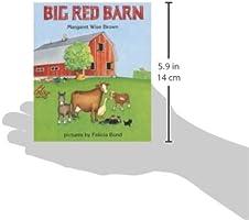 Big Red Barn: Margaret Wise Brown, Felicia Bond