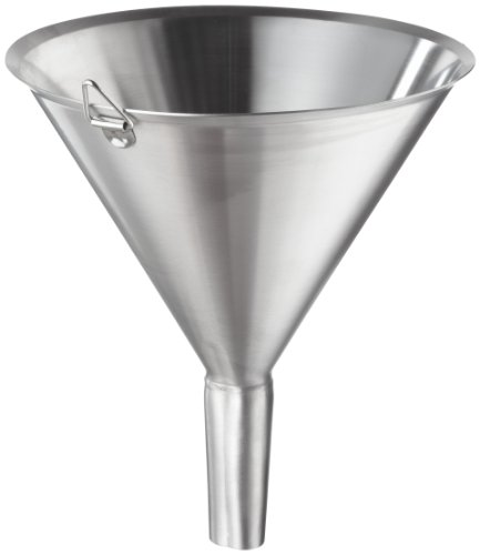 Polar Ware T1803F Stainless Steel Utility Funnel, 3'' OD x 3-3/4'' H, 2-3/8 oz. Capacity by Polar Ware