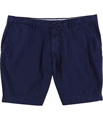 Polo Shorts Chino (Polo Ralph Lauren Mens Flat Front Preston Chino Shorts (42, Newport Navy))