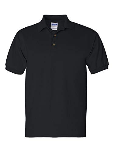 100 Cotton Jersey Polo - Gildan 100% Cotton Jersey Polo 2800 (XL / Black)