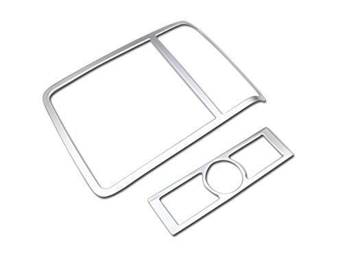 2/pcs ABS Chrome avant arri/ère lampe de lecture lumi/ère Coque Trim pour accessoire Auto Vwtg