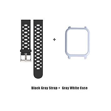 Amazon.com: LingStore 20mm Sports Silicone Wrist Strap ...
