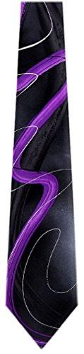 JG-XL-5936 - Jerry Garcia Mens Extra Long Fashion Designer Brand Silk Necktie Ties