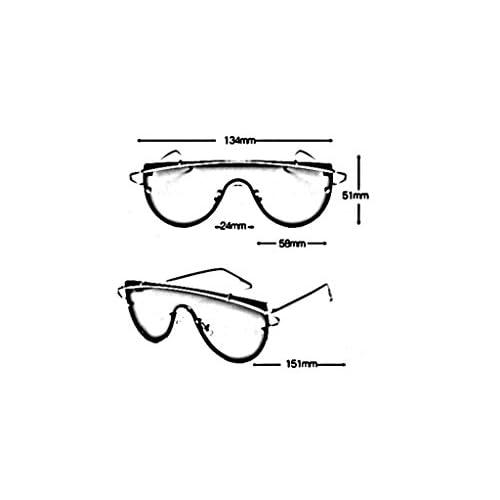 2299839e54 60% de descuento XW Gafas Gafas de sol elegantes coreanas alrededor de  gafas de sol