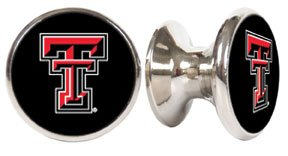- Texas Tech Red Raiders NCAA Stainless Steel Cabinet Knob / Drawer Pull