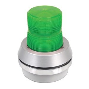 Edwards Signaling - 95G-N5 - Horn Strobe, Green, Cast Aluminum, 120VAC by Edwards-Signaling