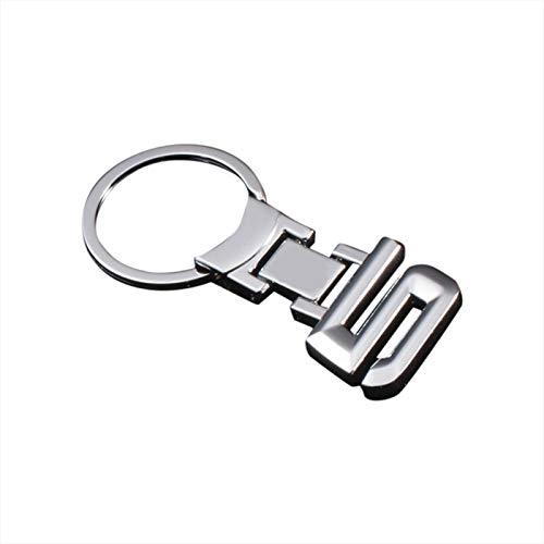 Gold Happy Fashion Metal Car Logo Key Ring Keyring Keychain Key Chain Car Styling
