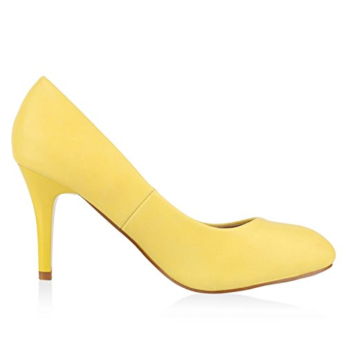 napoli-fashion - Cerrado Mujer Gelb Glatt