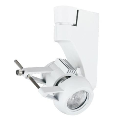 Jesco Lighting HMH270ES1620-W Contempo 270 Series Metal Halide Track Light Fixture, ES16, 20 Watts, White Finish