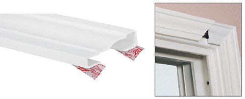 Door Jamb Extension Kit (CRL White TrimQuick 2-1/4