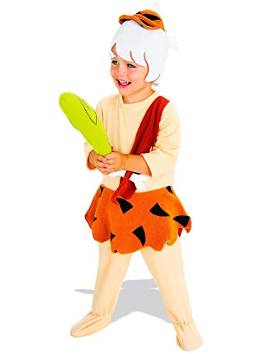 Rubies The Flintstones Bamm Bamm Complete Costume, Toddler (1-2) (Pebbles And Bam Bam Halloween Costumes Toddler)