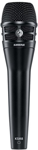 Shure KSM8/B Dualdyne Vocal Microphone by Shure