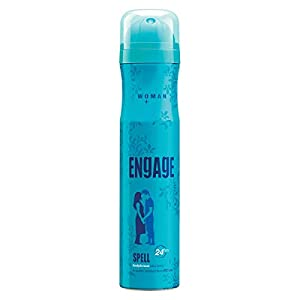 Engage Spell Deodorant For Women, Citrus and Fruity, Skin Friendly, 150 ml