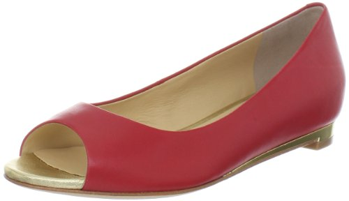 Cole Haan Womens Astoria Open-toe Balletto Piano Di Pomodoro Ciliegino