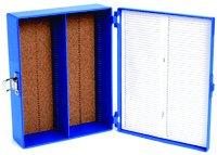 - Microscope Slide Box 100 Place Tall