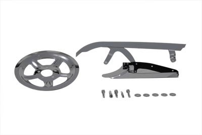 V-Twin Manufacturing Rear Belt Guard and Pulley Dress Up Kit -