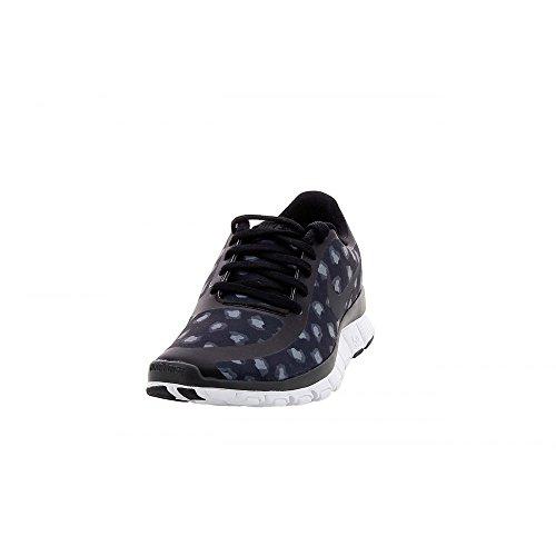 Nike Womens Free 5.0 Tr Fit 4 Print Nero / Antracite / Grigio Scuro / Bianco