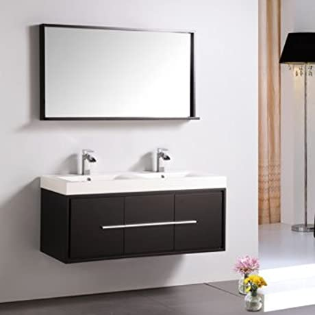 Dowell 007 36 03 W Bathroom Cabinet Espresso