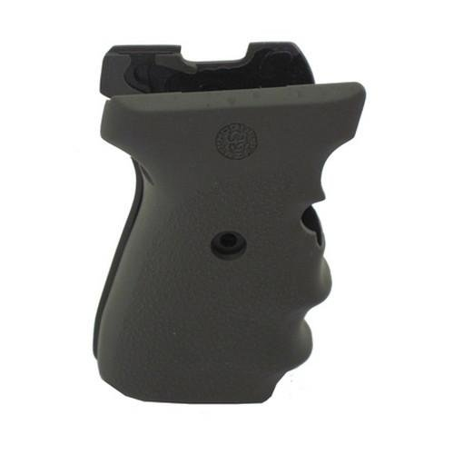 UPC 743108310014, Hogue SIG P239 Rubber Grips with Finger Grooves,  Olive Drab Green