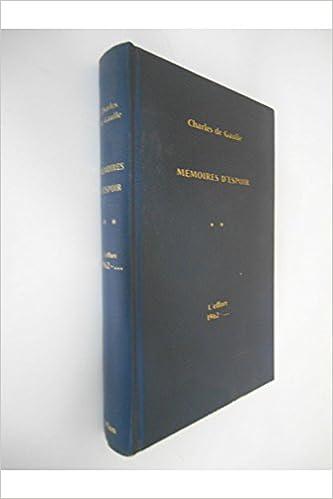 L'effort 1962 / Charles de Gaulle / Réf17498 pdf ebook