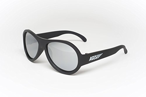 Aces - Fueled by Babiators Aviator sunglasses, Black Ops Black with Mirrored - Sunglasses Essex