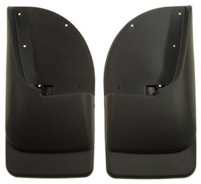 Molded Custom Mud Flaps (HUSKY LINERS 57401 Custom Molded Mud Guards;)