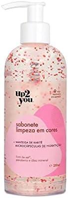 Sabonete Líquido Limpeza em Cores 250ml, Up2You Cosmetics