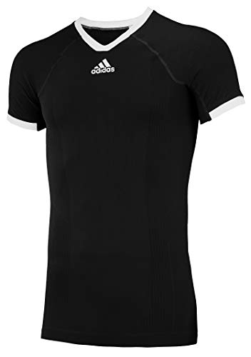 adidas Climacool Primeknit Techfit Mens Performance Compression Jersey Black XX-Large