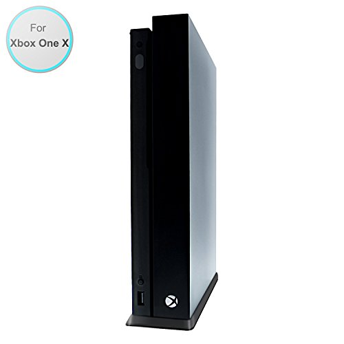 Xbox One X Vertical Stand, Fastsnail Vertical Stand for Xbox One X Console, Xbox One X Accessories – Black