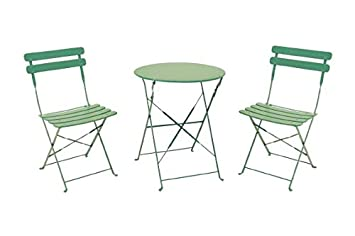 ChaisesVert Et Table Galileo Casa 2422102 Deux Bistrot 7g6vbyYf