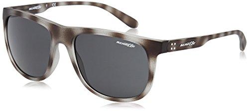 Arnette AN4235 2462/87 - Crooked Grind, Matte Grey Havana/Grey, 56mm, - Crooked Sunglasses