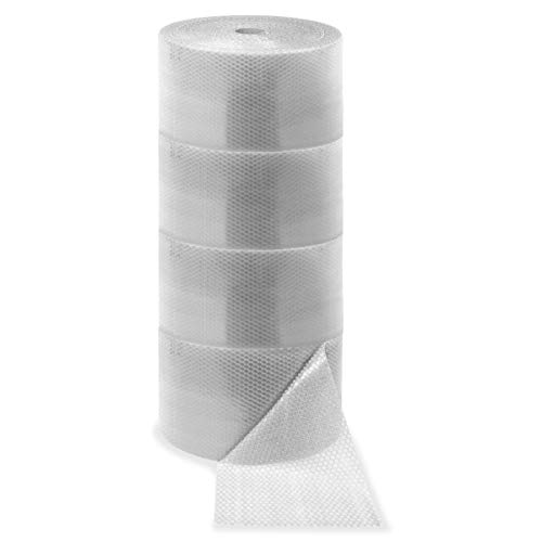 Sparco Bulk Roll Bubble Cushioning - 12in. Width x 300 ft Length - 187.5 mil Thickness - Flexible, Lightweight - Polyethylene - Clear