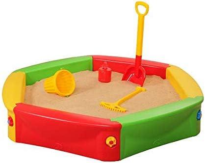 Musehouse Arenero de niños | Piscina de Arena | Arenero Cangrejero | para Jardin 140 cm | Niños al Aire Libre diversión | Edad 3+ (Sand Box 001): Amazon.es: Juguetes y juegos