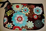 Thirty One Mini Zipper Pouch Floral Fanfare