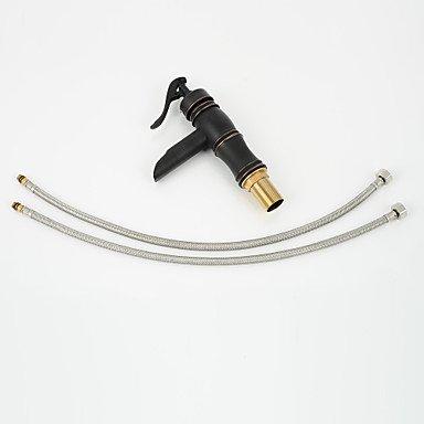 Hzzymj-united Hzzymj-united Hzzymj-united Staaten Standard Weißhin ein Öl Reiben Bronze Waschbecken Wasserhahn Löcher 7168ac