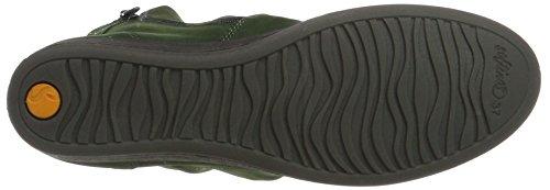 411 Grün Womens Green Ayo Boots Nubuck Leather Softinos Dk AxHPwqBB