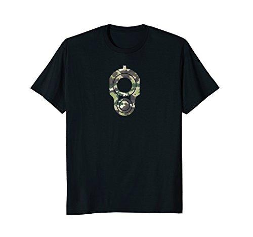 1911 Logo Gun T-Shirt - Camouflage