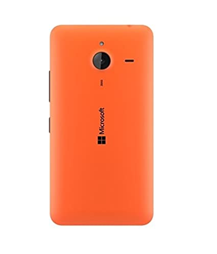 premium selection 2cb23 7071a Alifiya Kabir Replacement Back Door Cover Panel for Microsoft Lumia 640 XL  - Orange