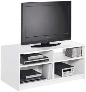 Générique Maine – Mueble TV Entretenimiento Modular – Blanco: Amazon.es: Hogar