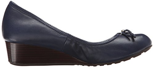 Cole Haan Kvinna Tali Grand Spets Wedge 40 Pump Blazer Blå
