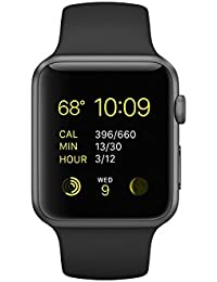 Watch Series 1 Sport 42mm Space Gray Aluminum Case with Black Sport Band