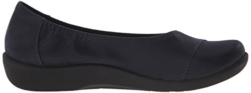 Clarks Cloudsteppers Sillian Intro plana Navy Synthetic Nubuck