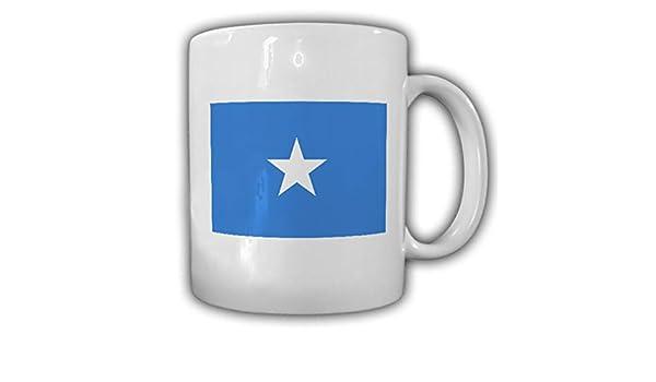 Copytec Taza República Federal de Somalia Mogadiscio Bandera de café Taza # 13906: Amazon.es: Hogar