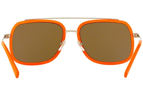 Versace Sonnenbrille (VE2173) PALE GOLD/FLUO ORANGE