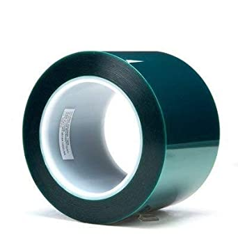 """2 3M 8992 GREEN POLYESTER TAPE 3//4/"""" X 72 YARDS PAIR"""