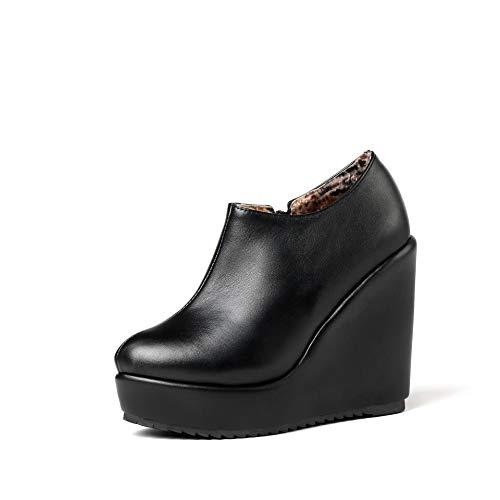 Da Tacco Women's E Donna Basso Alti Largo Boots Stivaletti Con Black tw1C1qnRgx