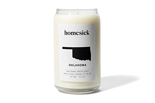 Homesick Scented Candle, Oklahoma